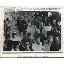 1965 Press Photo Running Of The Bulls Pamplona Spain - nee19619
