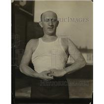 1925 Press Photo Dave Landow, Physical instructor in Los Angeles - nee24215
