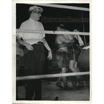 1939 Press Photo Joe Jacobs vs Geherto - nes26885