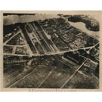 1940 Photo aerial view Copenhagen Denmark after German takeover WWII