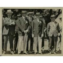 1926 Press Photo Pershing Attends Old Timers Reunion At West Point - nee30209