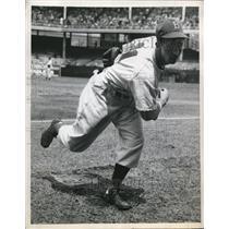 1947 Press Photo NYC Dodger rookie pitcher Harry Taylor - nes26966
