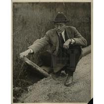 1928 Press Photo Jack Heil - nee25450