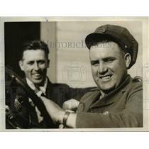 1927 Press Photo Elmer Bennett & Vernon Silvershield - nee25288