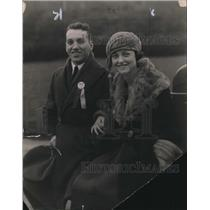 1922 Press Photo Peter Stinchcomb and Anna Summers - nee30831