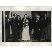 1933 Press Photo Miss Gabriela Rigoberto Rodriguez, Miss Catalonia 1933