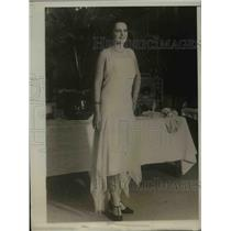 1931 Press Photo Mlle. Yvette Labrousse, Miss France