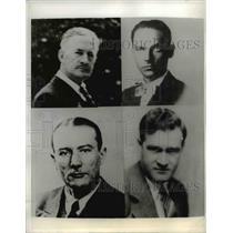 1943 Press Photo Douglas Chandler, Koisch, Kaltenbach and Leopold  - nee26926