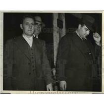 1930 Press Photo Russian natives, Mikhail and Ilafis Salish, suspected spy