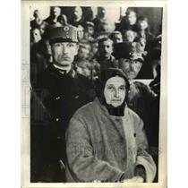 1935 Press Photo Julianne Nagy, Grandmother Convicted of Mass Poisoning Plot