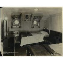 1922 Press Photo Cabin Inside of S.S. Creole State - nee26041
