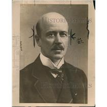 1919 Press Photo Sir L. Worthington Evans of Lloyd-GeorgeCabinet  - nee30774