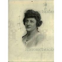 1921 Press Photo Mrs Marie Grace Clark Galleher - nee26647