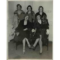 1932 Press Photo Nora Goldsmith Dorothy De Milhau Rosalie Rawlins Pageant