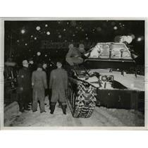 1954 Press Photo The Red Cross units in Cleveland ready to aid the needy