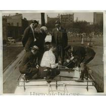 1930 Press Photo The bus safety school for Greyhound Liners - nee24444
