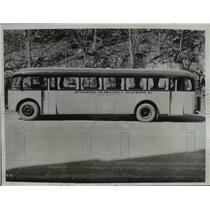 1933 Press Photo Passenger Bus The Bull Dog holds up to 60 Passengers