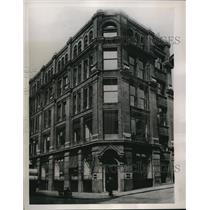 1940 Press Photo London Office of Associated Press Was Hit During German Air Rai