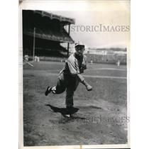 1944 Press Photo St Louis Mo Browns poitcher Nelson Potter - nes26797