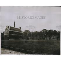 1929 Press Photo Merchant Taylors school Charterhous eLondon