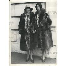 1929 Press Photo Catherine & Marguarite Hebert daughters of Senator Felic Hebert