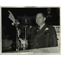1940 Press Photo Louisiana Senator James A. Noe - nee26094