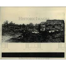 1939 Press Photo Daniel Freemans first Homestead  - nee24572