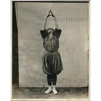 1920 Press Photo Evelyn Mueller - nex69575