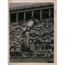 1922 Press Photo Richard Landon of Yale, world champion high jumper