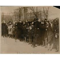 1931 Vintage Photo crowd wedding Virginia Booth and Christopher Vogel