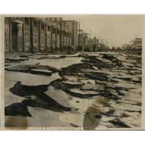 1933 Photo Maine Ave. Atlantic City damaged by storm Jan. 26 1933