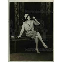 1928 Press Photo Pauline Waters In Hades Inc.at University of Pennsylvania