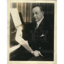 1930 Press Photo Paul Althouse, Chicago Civic Opera - nee34263