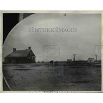 1938 Press Photo The O'Daniels boyhood home in Arlington Kansas - nee25951