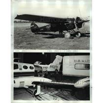 1968 Press Photo 1928 Cessma Model at 50th Anniversary of first airmail flight