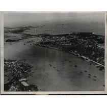 1936 Press Photo Areal view of the Pan American Airways' Terminous - nee39795