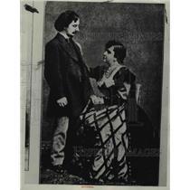 1934 Press Photo Poet Swinfurne - nee38800