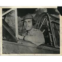 1942 Press Photo of 1LT. Harold C. Theus. - nee34433