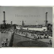 1933 Press Photo thousands attending the World Fair, General exhibition Chiago