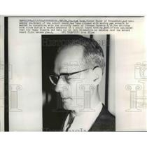 1960 Press Photo Dr Charles Rahm charged with murder of Thurman Jackson