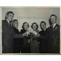 1939 Press Photo Healthiest members in the clubs - nee25927