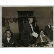 1934 Press Photo Theo Dreisy, a novelist  - nee38584