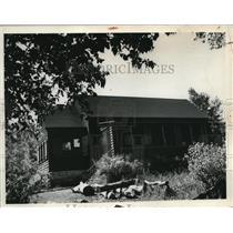 1938 Press Photo Girl Scouts at Mastick  - nee34411