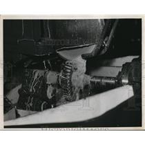 1935 Press Photo A Print and Whitney Gear Grinder at Tool Show - nee33511