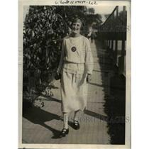 1923 Press Photo Mrs.Rutherford Former Husband to Marry Follies Girl