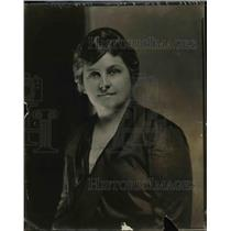 1922 Press Photo Mrs Flora Myers Gillentine of Murfreesboro TN DAR Representativ