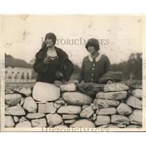 1924 Press Photo Mrs Herman Crossman Monroe NY wife of polo player