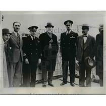 1935 Press Photo Eleutherious Venizelos, arrives in Naples Italy  - nee43244