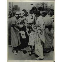 1937 Press Photo Japans millions in grip of war fever. - nee44043