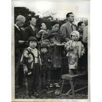 1946 Press Photo Tokyo Japan Autumn Christian Religious Festival celebrated.